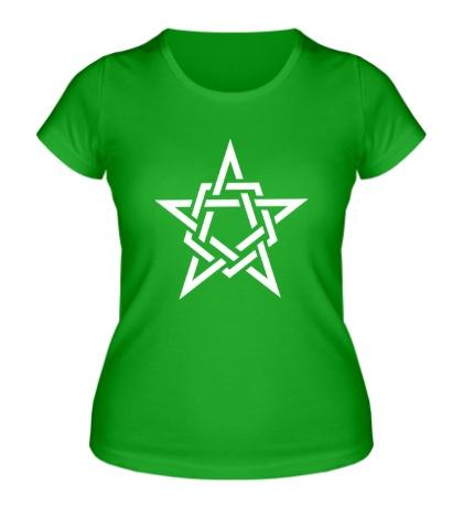 Женская футболка Кельтская звезда