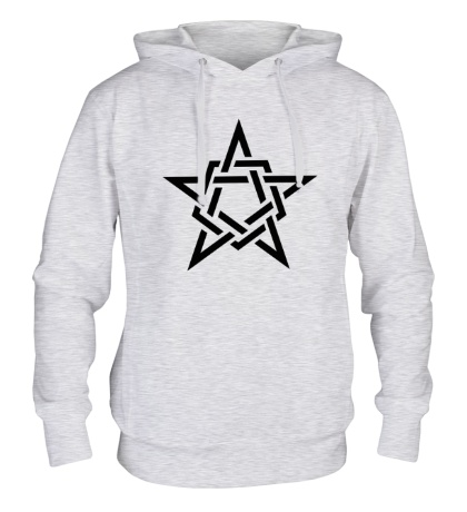 Толстовка с капюшоном Кельтская звезда