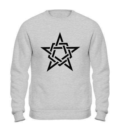 Свитшот Кельтская звезда