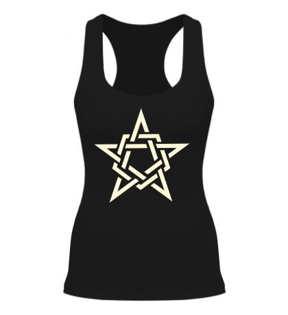 Женская борцовка Кельтская звезда, свет