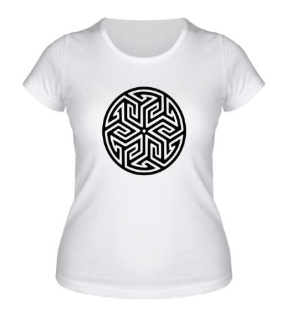 Женская футболка Арабский узор