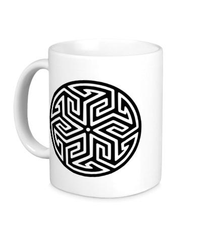 Керамическая кружка Арабский узор