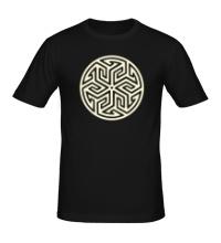 Мужская футболка Арабский узор, свет