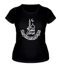 Женская футболка Рамадан