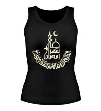 Женская майка Рамадан, свет