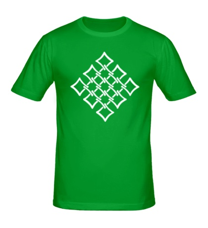 Мужская футболка Орнамент сетка