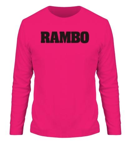 Мужской лонгслив Rambo