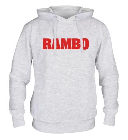 Толстовка с капюшоном Rambo
