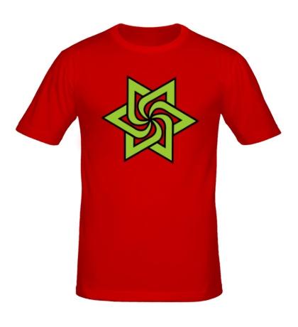 Мужская футболка Звезда торнадо
