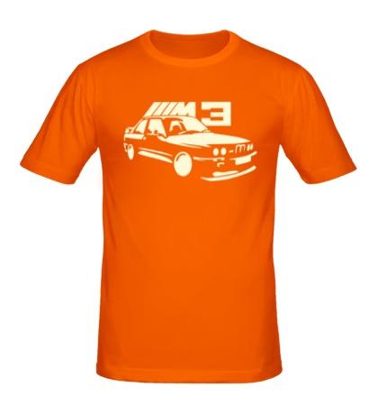 Мужская футболка BMW M3 Glow