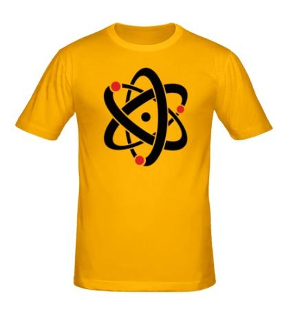 Мужская футболка Символ атома