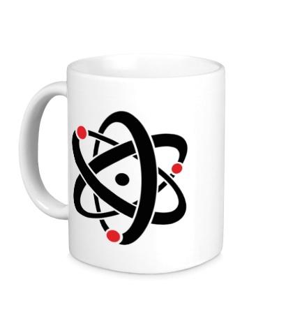 Керамическая кружка Символ атома