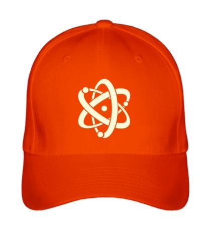 Бейсболка Символ атома, свет