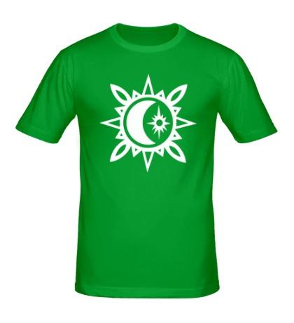 Мужская футболка Исламский полумесяц