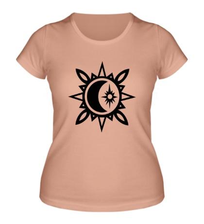 Женская футболка «Исламский полумесяц»