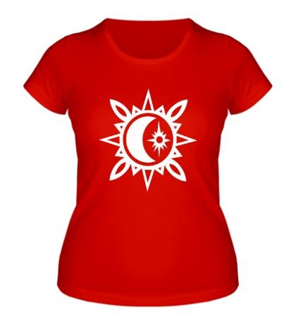 Женская футболка Исламский полумесяц