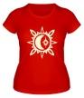 Женская футболка «Исламский полумесяц, свет» - Фото 1