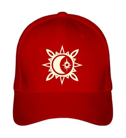 Бейсболка Исламский полумесяц, свет