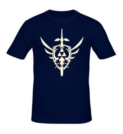 Мужская футболка Эмблема война свет