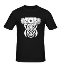 Мужская футболка Кельтские черепа