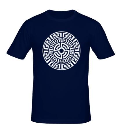 Мужская футболка Руна круговорота