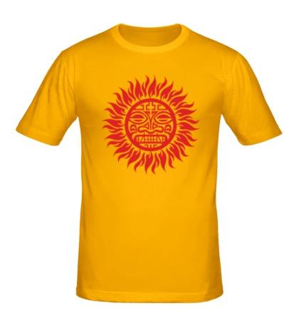 Мужская футболка Солнце: древний символ