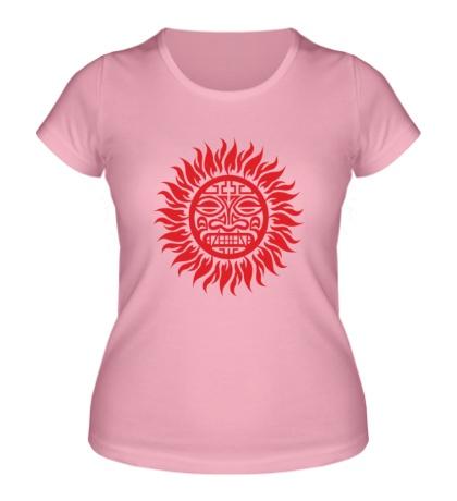 Женская футболка Солнце: древний символ