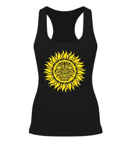 Женская борцовка Солнце: древний символ