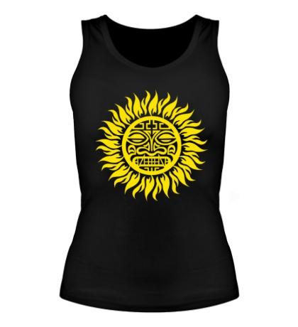 Женская майка Солнце: древний символ