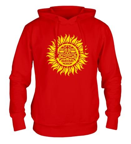 Толстовка с капюшоном Солнце: древний символ