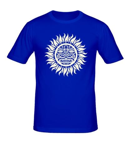 Мужская футболка Солнце: древний символ, свет