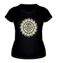 Женская футболка Солнце: древний символ, свет