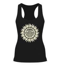 Женская борцовка Солнце: древний символ, свет