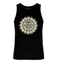 Мужская майка Солнце: древний символ, свет