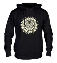 Толстовка с капюшоном Солнце: древний символ, свет