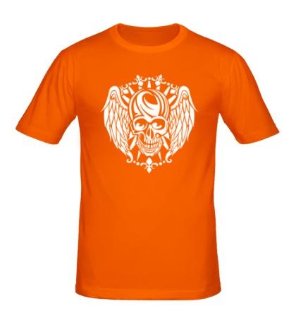 Мужская футболка Крылатый череп