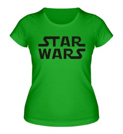 Женская футболка Star Wars Logo