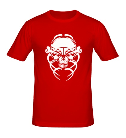 Мужская футболка Череп жука