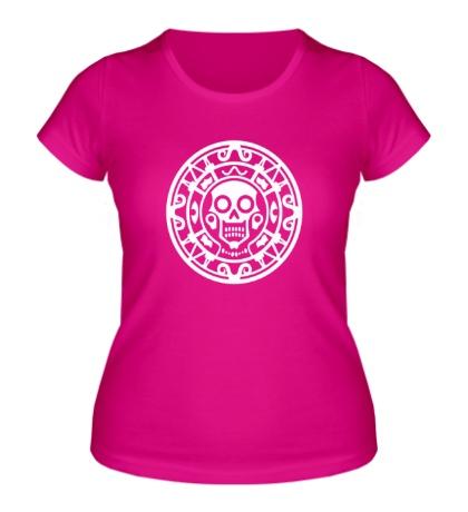 Женская футболка Ацтекская руна