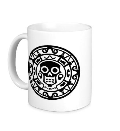 Керамическая кружка Ацтекская руна