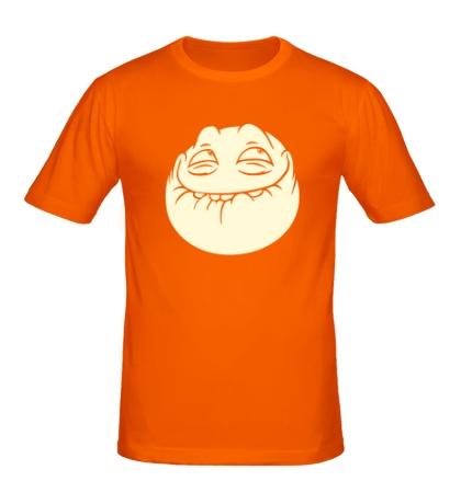 Мужская футболка Peka smile свет
