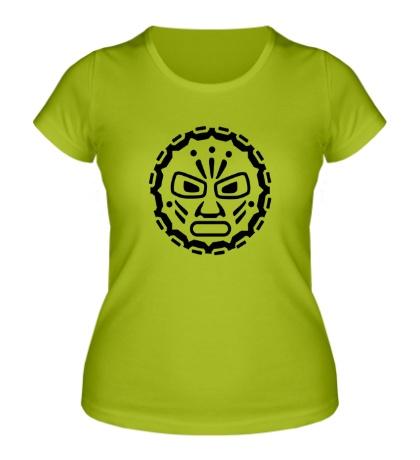 Женская футболка Руна индейских племен