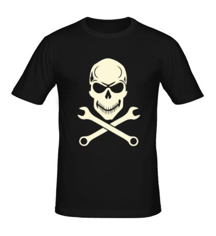 Мужская футболка Механическое братство свет