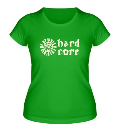 Женская футболка Hard Core Glow