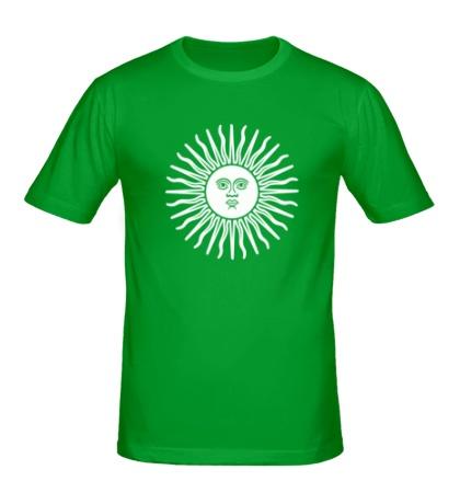 Мужская футболка Солнечный диск