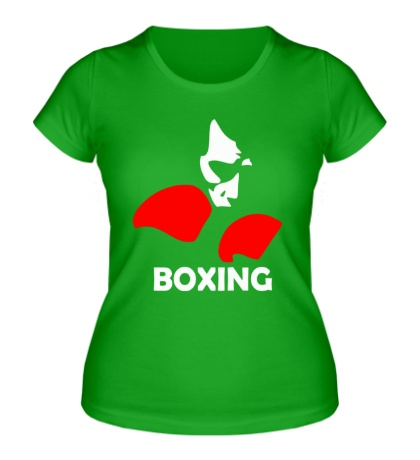 Женская футболка Boxing Only