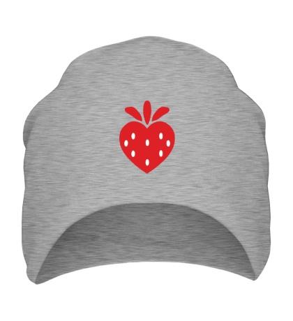 Шапка Сердце-клубнчка