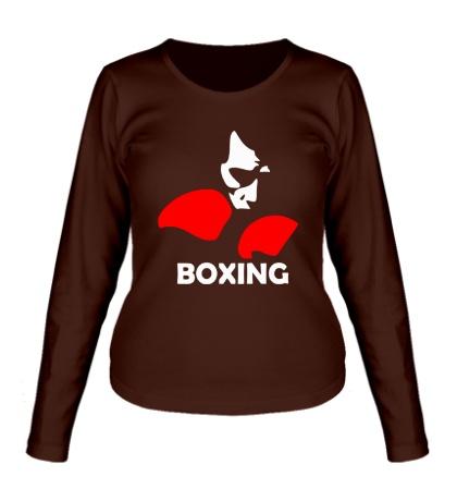 Женский лонгслив Boxing Only