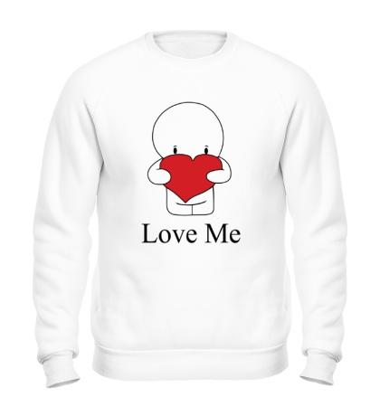 Свитшот Love me