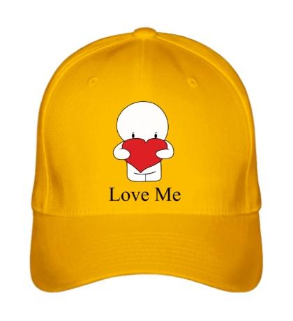 Бейсболка Love me